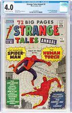 Strange Tales Annual #2 CGC 4.0