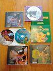 Disney Computer Games / Bundle / Lot / Tarzan Lion King Dinosaur Lilo & Stitch +