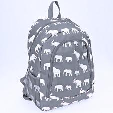 Elephant Gray Backpack -Cheer Bag-Overnight Bag- New arrival-DEAL!