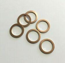 Copper Sealing Washers - 12mm ID x 20mm OD x 1.5mm. Choose Quantity. M12.