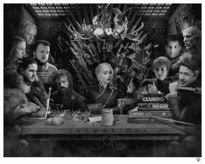 JJ Adams - Board Game Of Thrones (Framed) In Stock