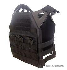 DLP Tactical WRAITH JPC MOLLE plate carrier vest in DELTA BLACK