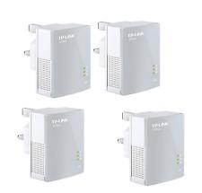 TP Link TL PA4010 AV600 Nano Powerline Ethernet Gaming Adapter Home Plug X 4 UK