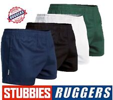 *GENUINE* STUBBIES RUGGERS ELASTIC WAIST DRILL MENS WORK SHORTS - SE2060