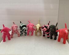 Victoria Secret Vs Pink 7� Mini Dogs Plush Lot Of 8 Collection Euc