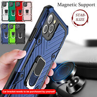 For iPhone 11 Pro Max XR XS Max 8 7 6 SE Case Shockproof Hybrid Ring Stand Cover