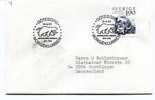 1984 Goteborg NORGEKLUBBEN Sverige Wurmlingen Polar Antarctic Cover