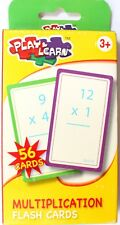 Jeu de Carte Flash Cards Multiplication 56 Cartes d'Apprentissage 8 x 14 cm