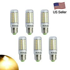 6pcs 9W E27 LED Corn Bulb Light Warm White  540LM 69LEDs SMD5730 Non-Dimmable