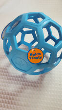 JW Pet Hol-ee Roller Tug and Treat Ball Dog Toy