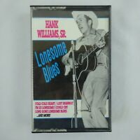 Hank Williams SR Cassette Lonesome Blues