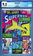 Superman #187 CGC 9.2-John Fantucchio copy-80pg Giant w/25¢ Cover-CGC 0345364008