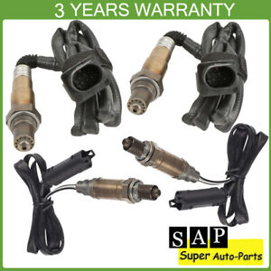 Set of 4 Up+Downstream Oxygen Sensor for BMW 325Ci 530i X3 04-06 3.0L Auto Trans