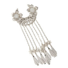Traditional Chinese Long Tassel Dangle Alligator Hairpin Hair Clip Jewelry