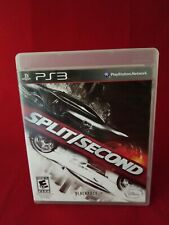 Split/Second (Sony PlayStation 3, 2010) PS3 CIB Complete in box w/ Manual