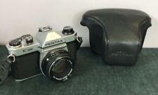 Pentax K1000 Camera , smc Pentax f2 50mm lens & case