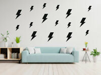 100 Lightning Bolt Removable Vinyl Wall Decals Wall Stickers - Nursery Decor