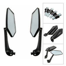 Side 2X Motorcycle Rearview Mirror For Electric Motorcycle ATV Quad Scooter ABS