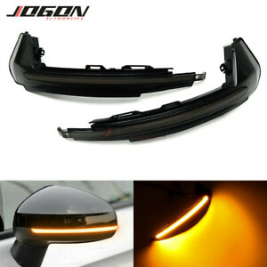 LED Dynamic Turn Signal Side Mirror Indicator Light For Audi A1 8X 2011- 2018