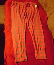 NWT- BOBBIE BROOKS WOMANS SIZE XL PINK/GREY BOTTOMS/ PANTS /SLEEPWEAR/INTIMATES