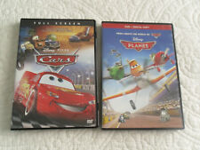 CARS & PLANES (DVDS) BOTH DISNEY MOVIES * BOTH MOVIES FOR ONE PRICE