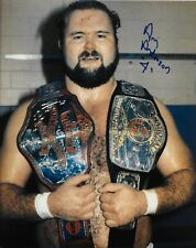 ARN ANDERSON WCW WWF WWE THE ENFORCER SIGNED AUTOGRAPH 8X10 PHOTO #2 W/ PROOF