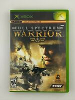 Full Spectrum Warrior - Original Xbox Game - Complete & Tested