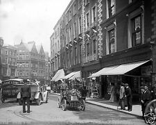 1903 Photo of Grafton Street, Dublin, Ireland - Vintage Black and White