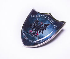 Great Game of Thrones Nights Watch Shield Pin Badge