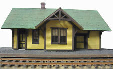 SOUTHERN PACIFIC SPARKS DEPOT HO Railroad Structure Craftsman Wood Kit CM31905