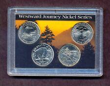 2004-05 Westward Journey Nickel set complete in commemorative collector case