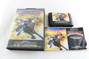 Sega Megadrive Sunset Riders Video Game