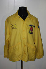 Vintage 1978 Japan Bowl NCAA Coach Cal Stoll Windbreaker Jacket XL Joe Roth
