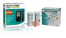 Accu-Chek Active Blood Glucose Meter Sugar Monitoring System Kit With 100 Strips