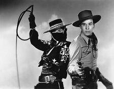 Linda Stirling, George J. Lewis - Zorro's Black Whip (1944)  - 8 1/2 x 11