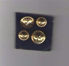 4  VINTAGE old obsolete MEMPHIS Police Button