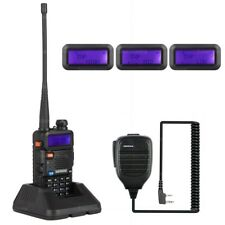 NKTECH UV-5R PLUS VHF Tri-Power 8W 4W 1W Two-Way Radio Walkie Talkie BaoFeng Mic
