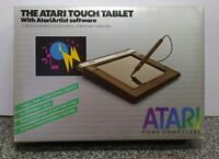 THE ATARI TOUCH TABLET WITH ATARI ARTIST SOFTWARE  NEW OPEN BOX VINTAGE RARE
