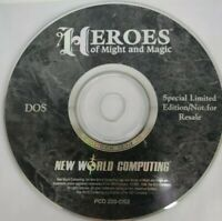 Heros of Might & Magic Special Limited Edition DOS PC Cd Rom Game  ~ Disc Only