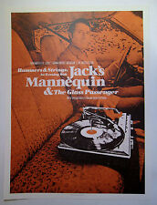 Jack's Mannequin *The Intersection Grand Rapids 2008 Poster Andrew McMahon RARE