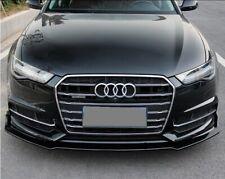 Audi A6 c7 lift Frontspoiler