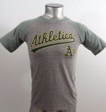 Oakland A's MLB Baseball boy's t-shirt gray M 10-12 new
