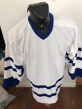 MENS Medium CCM Hockey Jersey Toronto Maple Leafs Blank