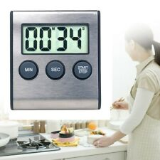 Kurzzeitmesser Timer Küchenwecker Stoppuhr Eieruhr Digital - NEU