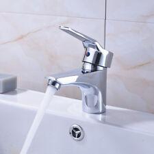 Bad Armatur Waschbecken Einhebelmischer Wasserhahn Waschtisch Messing Chrom