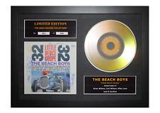 More details for the beach boys signed gold disc album ltd edition framed picture memorabilia