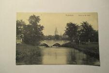 Ansichtskarte Paderborn Paderpartie  um 1915
