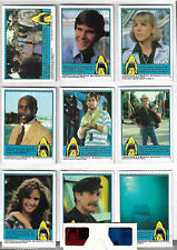 Jaws 3D Complete 44 Bubblegum Card Set With 3D Viewer Topps - 1983