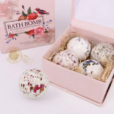 4Pcs Aromatherapy Bath Bombs for Adults & Kids , Moisturizing Relaxing Spa Balls