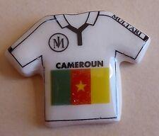Fève pub perso du MH 2010 Multari à Nice - Coupe Monde Foot : Maillot Cameroun